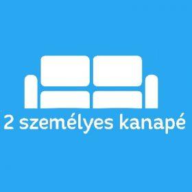 2 személyes kanapé