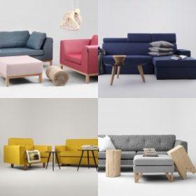 Skandináv Design ülőgarnitúra kollekció