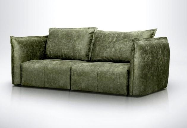 Deda 2 személyes kanapé 2 karral