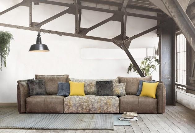Deda 4 személyes kanapé 2 karral