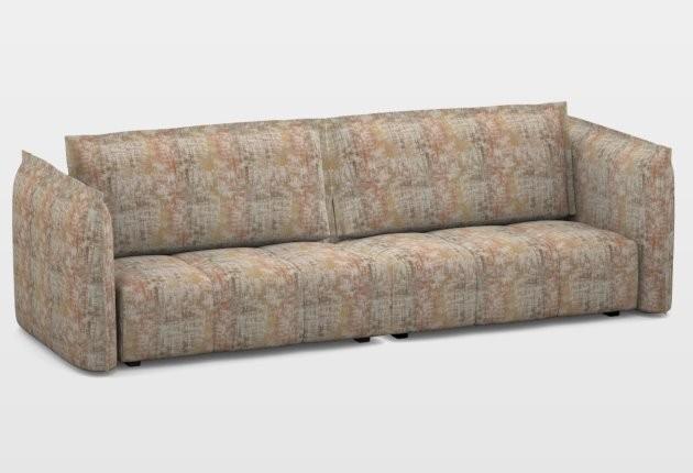 Deda 3 személyes kanapé 2 karral